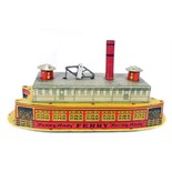 Tin Plate Toy Ferry - 'Sunny Andy' Ferry with Bell - 'Wolverine USA' - Circa. 1930s - some wear &