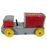Tin Plate Toy Tractor - 'Sunny Andy' Caterpillar - Clockwork 'Wolverine USA' - Circa. 1930s - some