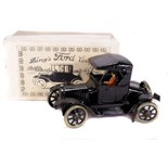 Tin Plate Toy Car - 'Bing Germany' - 1910 - Clockwork 'Ford' Coupe with faux box - some wear & minor