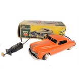 Tin Plate Toy Car - 'Arnold Germany' - circa 1950s - Clockwork remote control with original box -