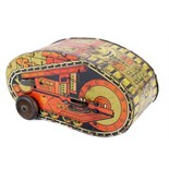 Tin Plate Toy Tank - 'Marx USA' - Circa. 1930s - Clockwork No. 3 Tumbling Tank - some wear &