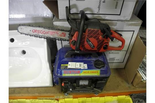 Suntom sge1000x generator and a jonsered chain saw greentooth Gallery