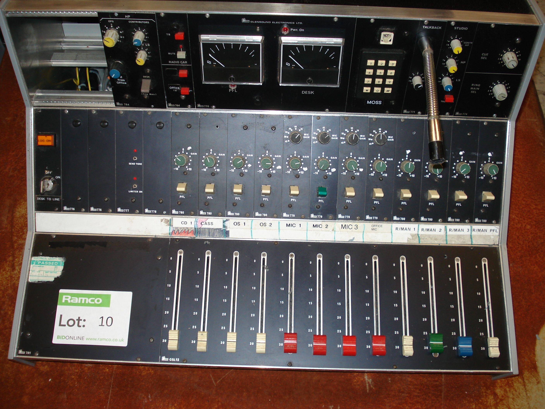 Glensound 12 Channel Mixing Desk Original Lot 10
