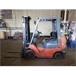Toyota Model 7FGCU25 5,000-Lb Capacity Forklift