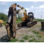 John Deere Model 270C LC Hydraulic Excavator w/Shear