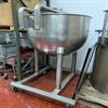 "Groen N-150 SP 150 Gallon Stainless Steel Kettle - 42"" diameter x 34"" deep - Bridge for mounting - Image 3 of 4"