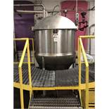 Lee model 250D7S 250 gallon Single Action Stainless Steel Cooking and Mixing kettle