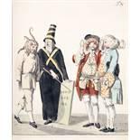 [Johann Wolfgang von Goethe]. Das Römische Carneval. Weimar und Gotha, Carl Wilhelm Ettinger 1789.