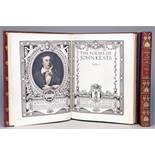 """Chiswick Press - John Keats. The Poems. Edited by George Sampson. Vol. I [and] II. London, George"