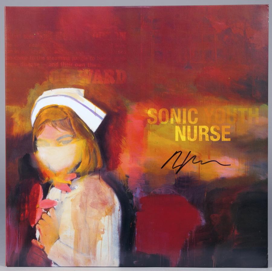 Richard Prince - Sonic Youth. Nurse. Doppel-LP. Geffen Records 2004.Doppelcover illustriert nach