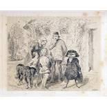 E. T. A.  Hoffmann. Gesammelte Schriften. Mit Federzeichnungen von Theodor Hosemann. Erster [bis]