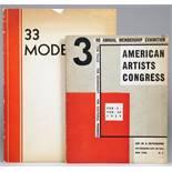USA 1930er Jahre - Vier Ausstellungskataloge. New York 1930–1941. Mit zahlreichen Abbildungen.