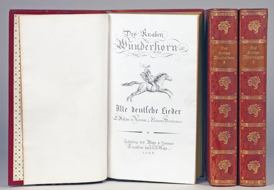 Insel Verlag - Des Knaben Wunderhorn. Alte deutsche Lieder, gesammelt von Achim von Arnim und