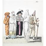 Insel Verlag - [Johann Wolfgang von Goethe]. Das Römische Carneval. Leipzig, Insel 1905. Mit