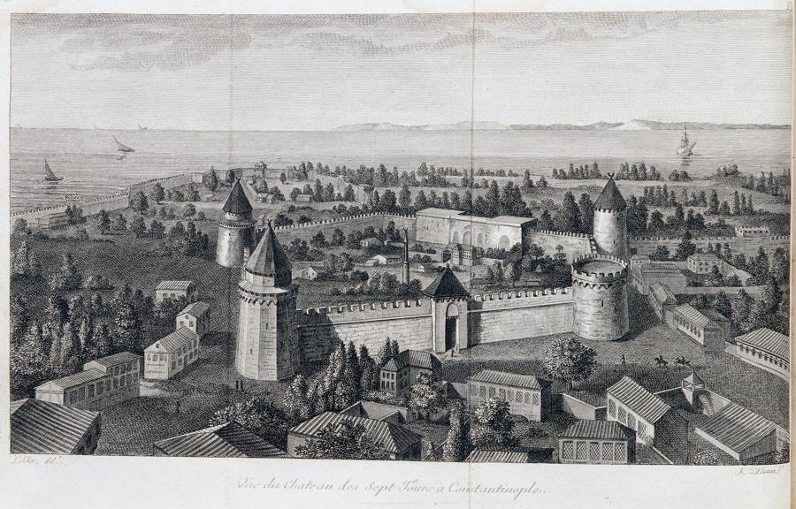 """""""F[rançois] C[harles] H[ugues] L[aurent] Pouqueville. Voyage an Morée a Constantinoble, en Albanie"""