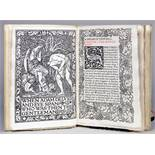 Kelmscott Press - William Morris. A Dream of John Ball and A King's Lesson. London, Reeves &