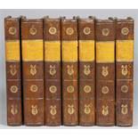 [Johann Wolfgang von] Goethe. Neue Schriften. Erster [–] Siebenter Band. Berlin, Johann Friedrich
