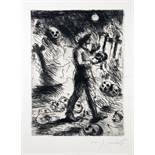 Lovis Corinth - Bonaventura [August Klingemann]. Die Nachtwachen. Mit Original-Lithographien von