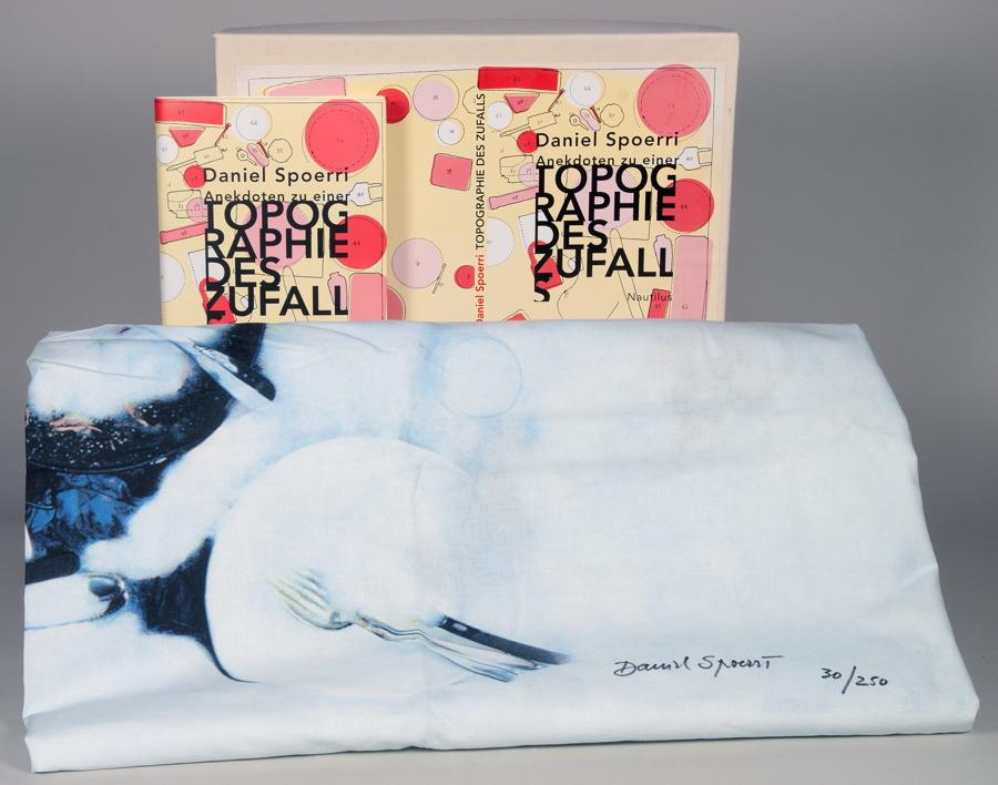 Künstlerbücher seit 1990 - Daniel Spoerri. Anekdoten zu einer Topographie des Zufalls. Hamburg,