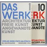 Walter Cyliax. Das Werk. Schweizer Monatsschrift für Architektur, freie Kunst, angewandte Kunst.