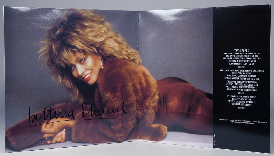 Bettina Rheims - Tina Turner. Two People. Maxisingle-Doppelalbum. – Capitol Records ohne Jahr.
