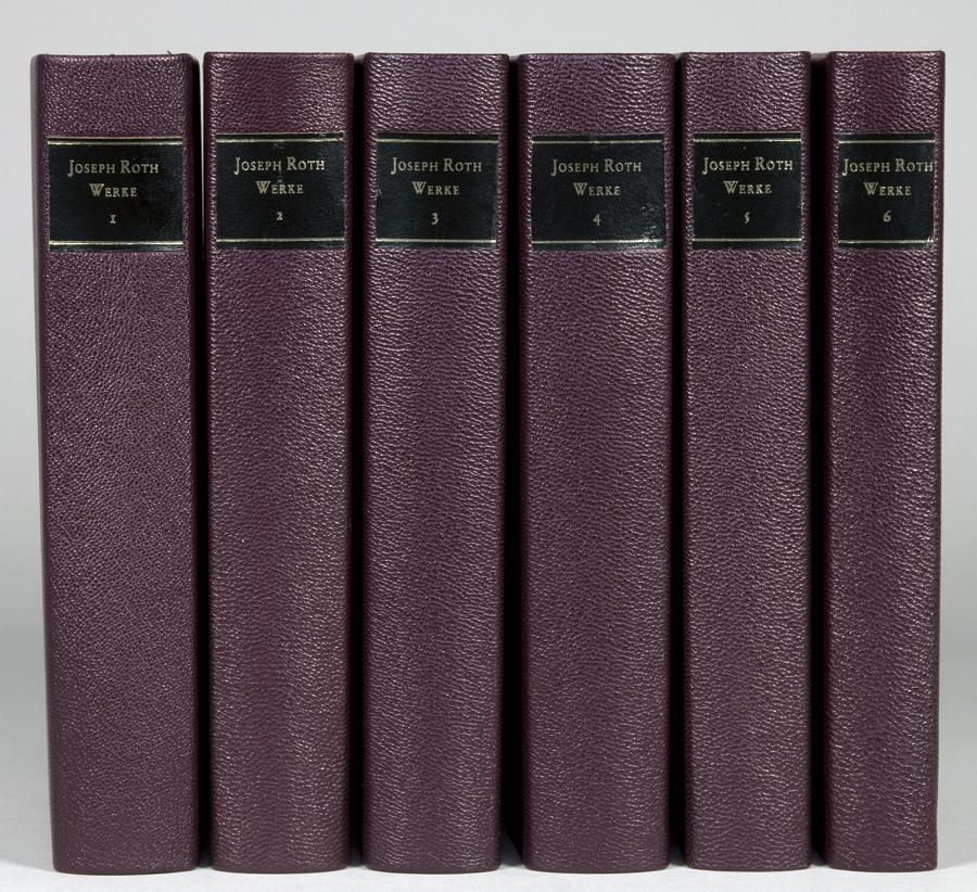 Joseph Roth. Werke. Herausgegeben und mit Nachwort von Klaus Westermann und Fritz Hackert. Erster [