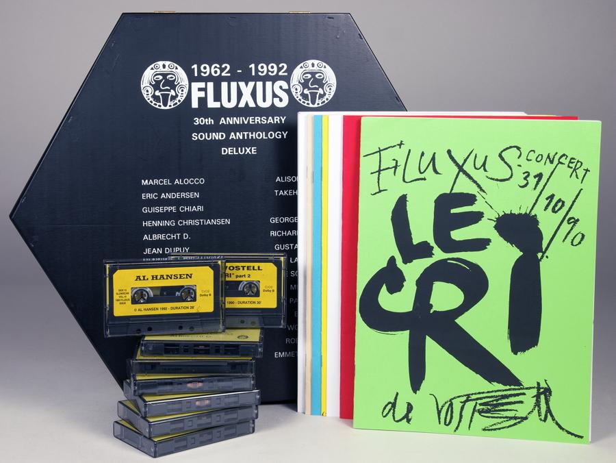 Fluxus 1962–1992. 30th Anniversary Sound Anthology. Edited by Jan van Toorn. s'-Hertogenbosch,