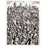 Karl Rössing - Nikolaus Gogol. Taras Bulba. Mit 30 Holzschnitten von Karl Rössing. Wien, Leipzig und