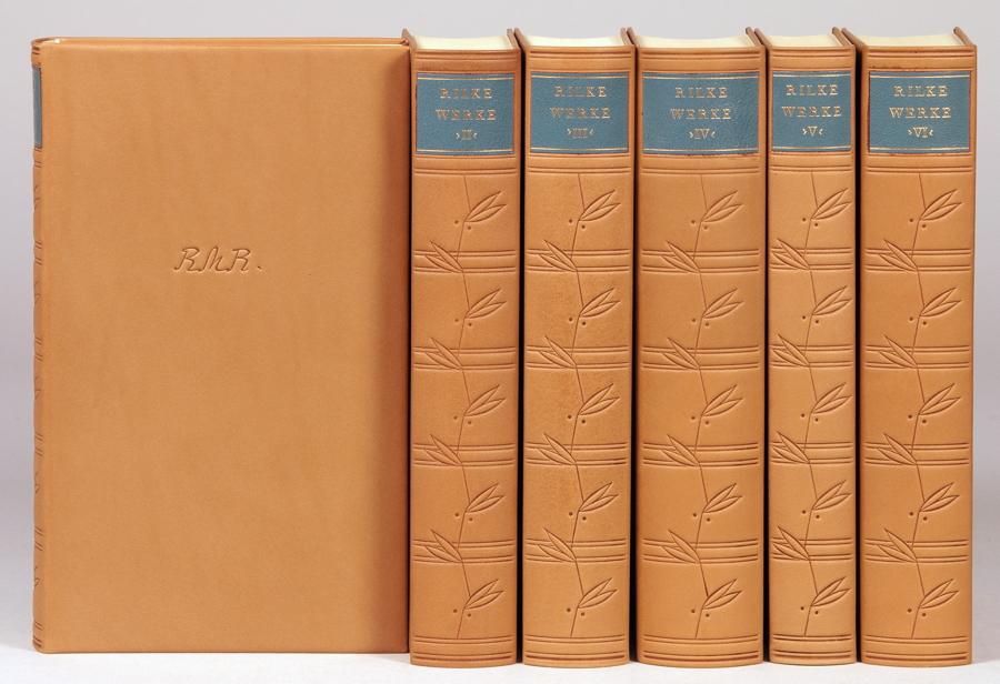 """""""Rainer Maria Rilke. Sämtliche Werke. Herausgegeben vom Rilke-Archiv. In Verbindung mit Ruth"""