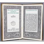 Einhorn-Presse - Melchior Lechter. Tagebuch der Indischen Reise. Als Manuskript gedruckt. Berlin,