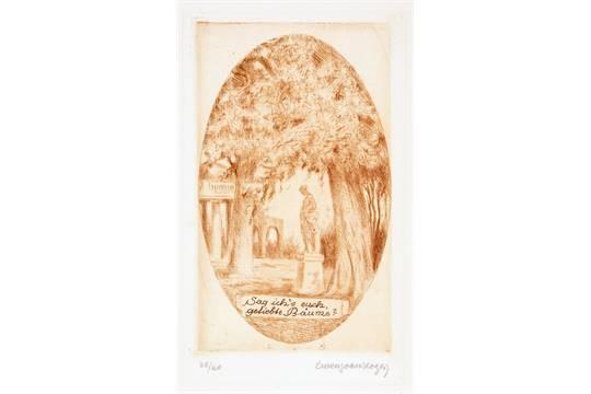 Alfred Hoennicke Johann Wolfgang Von Goethe Lida