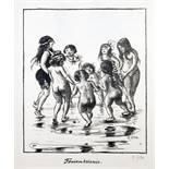 Heinrich  Zille. Zwanglose Geschichten und Bilder. Lithographien. Berlin, Fritz Gurlitt 1919. Mit 47