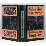 Ernst Ludwig Kirchner - Jakob Boßhart. Neben der Heerstraße. Mit Holzschnitten von E. L. Kirchner.