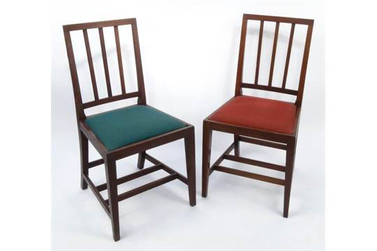 Pair of mahogany slatback Coronation chairs for E.R.VII each 92cms tall  For Condition Reports  sc 1 st  The Saleroom & Pair of mahogany slatback Coronation chairs for E.R.VII each 92cms ...