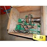 GREENLEE 6800 ULTRA TUGGER PORTABLE CABLE PULLER WITH 8,000LB MAX. CAPACITY, S/N: ABJ 9277HT