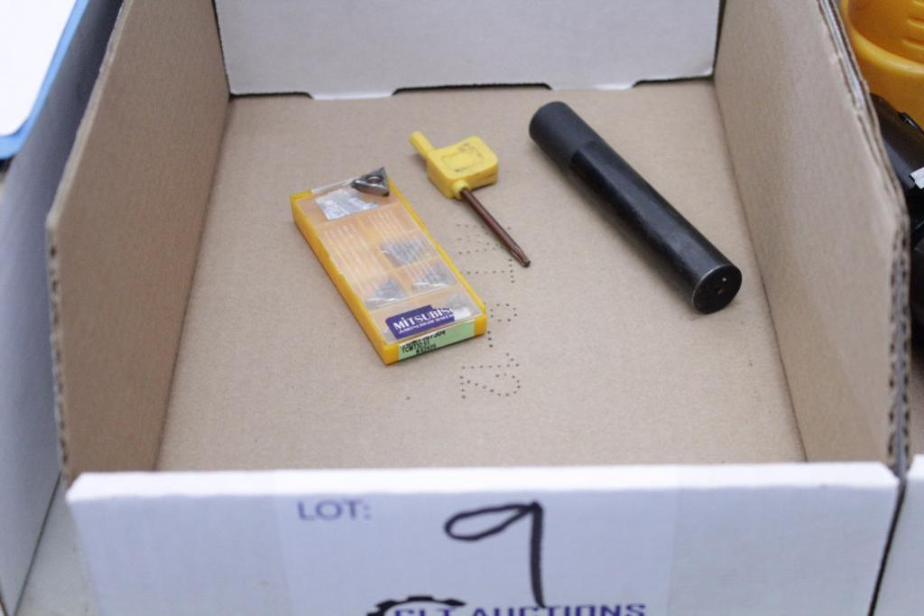 Lot 9 - 20-20-130 20 Indexable Chamfer End Mill