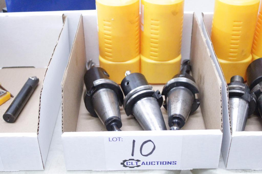 Lot 10 - Cat 40 tool holders