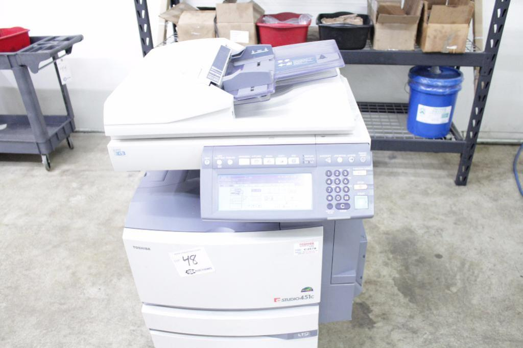 Lot 48 - Toshiba e-studio451c copier, Model: FC-451C, Year: 2005