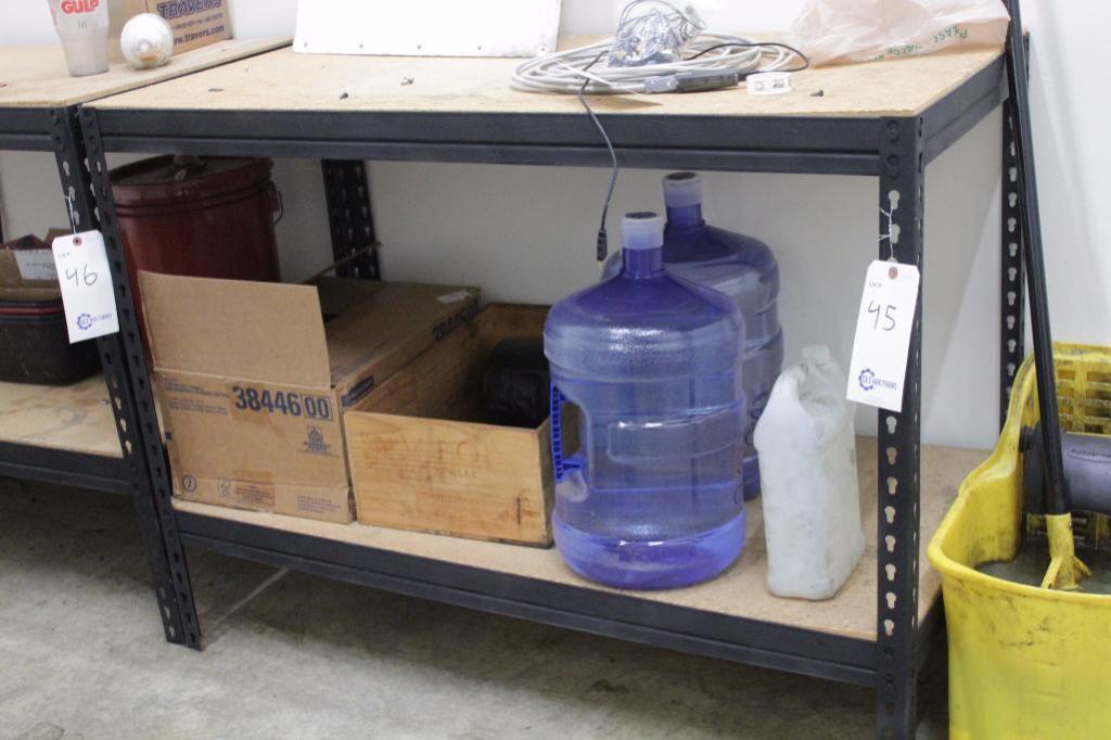 """Lot 45 - Shelf/work bench, Size: 48""""W X 24""""D X 37""""H"""