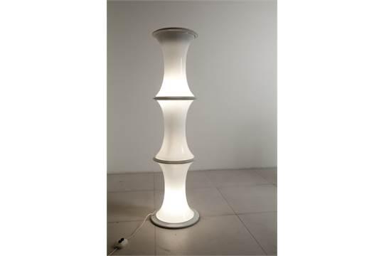 Lampade In Vetro Anni 70 : Coppia lampade anni vetro bianco lampadari o lampade da