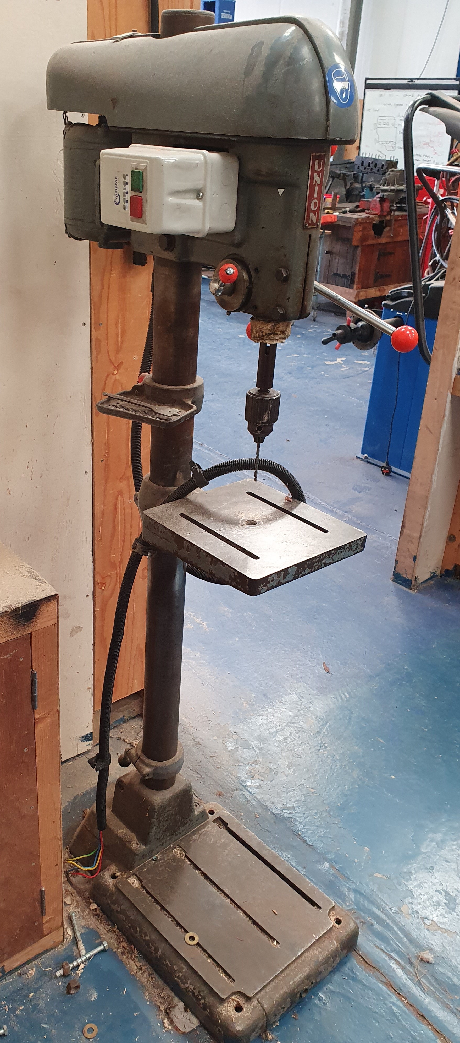 Union Floor Standing Pillar Drill - Image 2 of 2