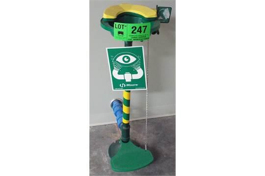 emergency eye wash station instructions