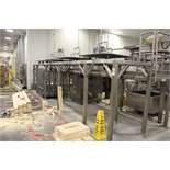 Stainless Steel Work Platform, W/ (4) Rotating Platforms | Rig Fee: $400
