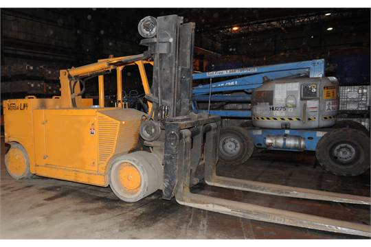 Versa Lifta 40 60 Lpg Indoor Forklift With 60 000 Lbs Cap 24a Extended 40 000 Lbs Capacity