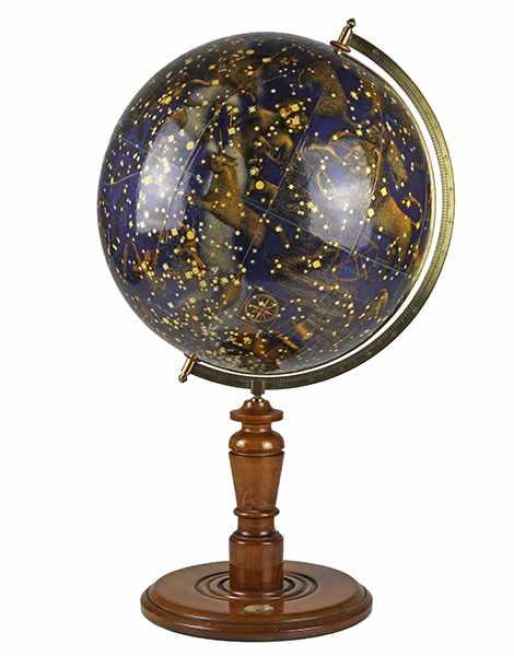 Lot 10 - Globen - Astronomie - - Schöner Himmelsglobus mit figürlichen Sternbildern. Deutschland um 1920, der