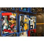 (3) Bins With Cnc Lathe Tooling And Form Tools,