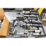Cart With Collet Holders, Cut Off Tools,