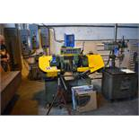 """6"""" X 12"""" VICTOR MODEL AUTO 10H AUTOMATIC HORIZONTAL BAND SAW W/ EXTRA BLADES"""