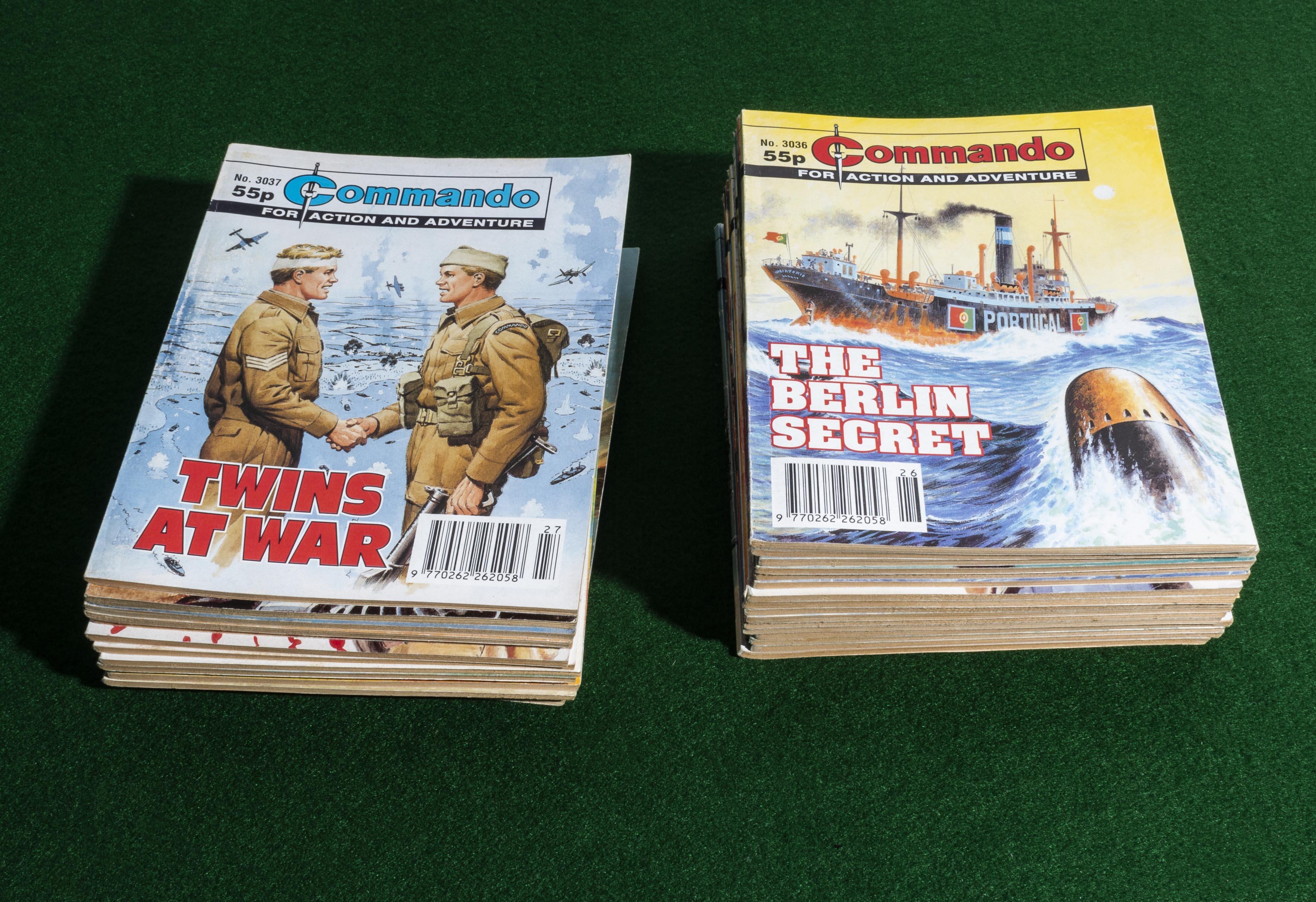 Lot 21 - 30 Commando comic books 3036/3065 1997