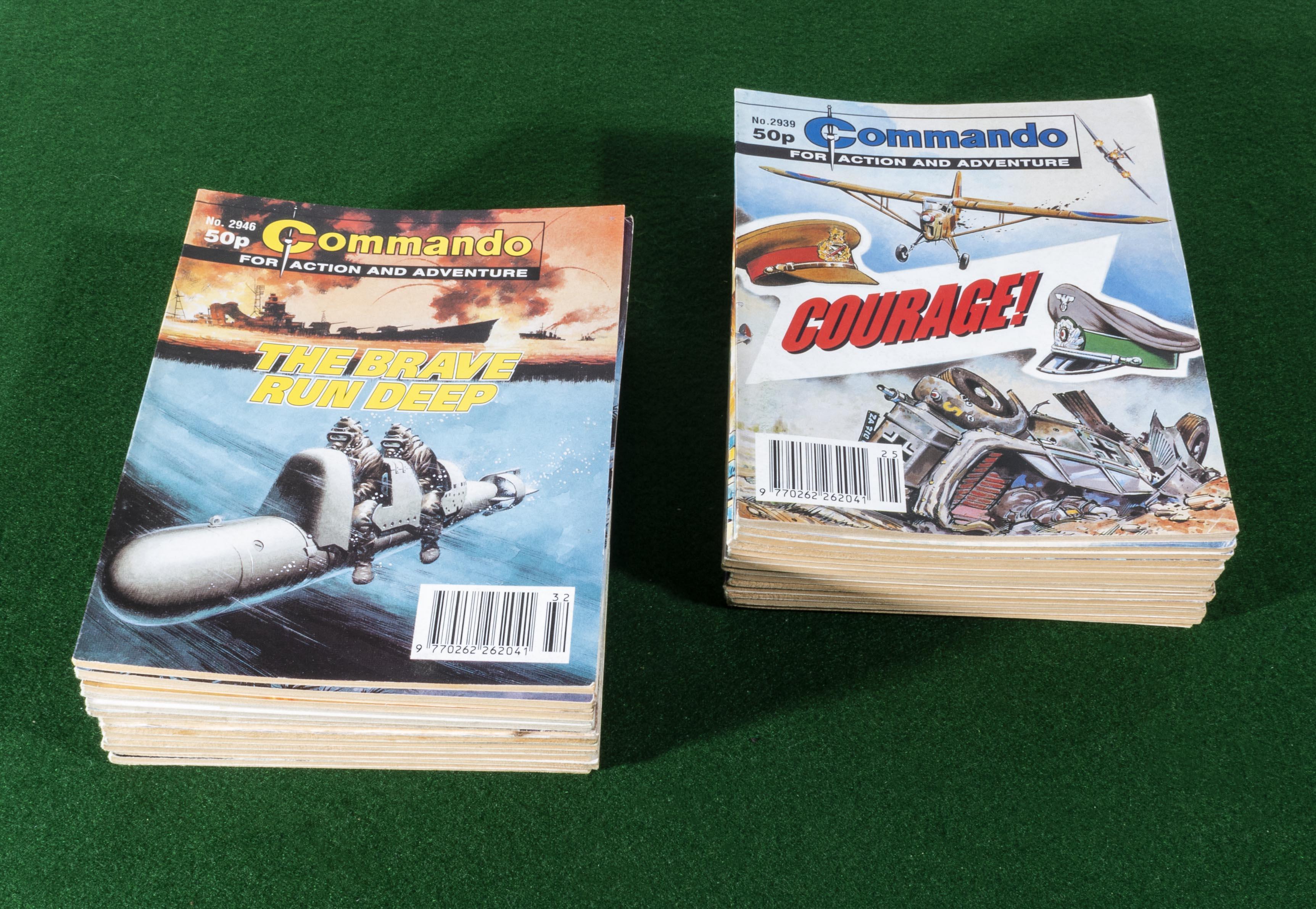 Lot 22 - 30 Commando comic books 1996